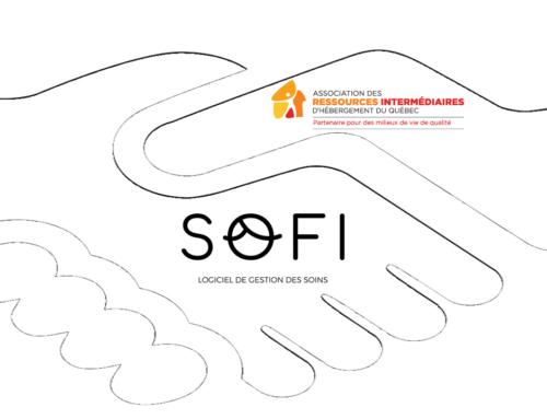 Exlusivement pour les RI: démonstration en ligne le 10 mai à 13 h 30 de SOFI, votre infirmière virtuelle