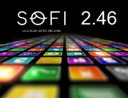 Le logiciel de dossier patient de SOFI vous présente sa version 2.46