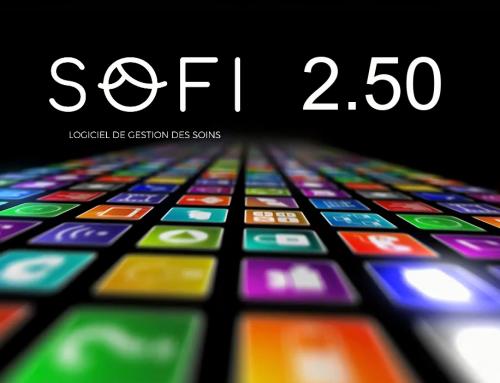 Nouvelle version du logiciel patient SOFI v.2.50