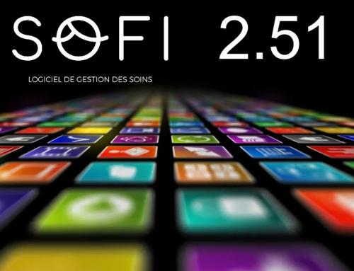 Nouvelle version du logiciel patient SOFI v.2.51