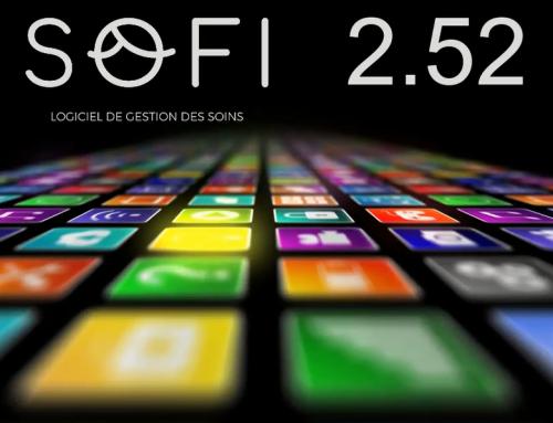 La toute nouvelle version du logiciel de soins SOFI évolue à 2.52