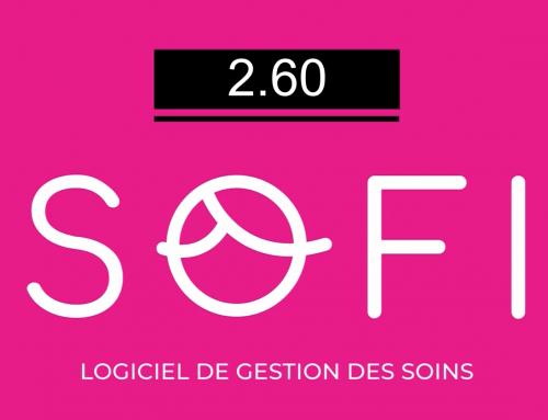 Une version toute fraîche de SOFI avec la 2.60.